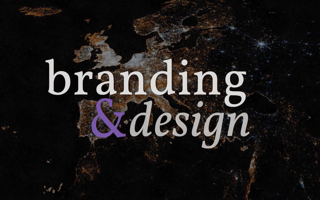 & branding design