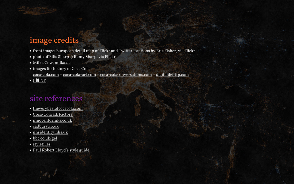 image credits front image: European detail map ...