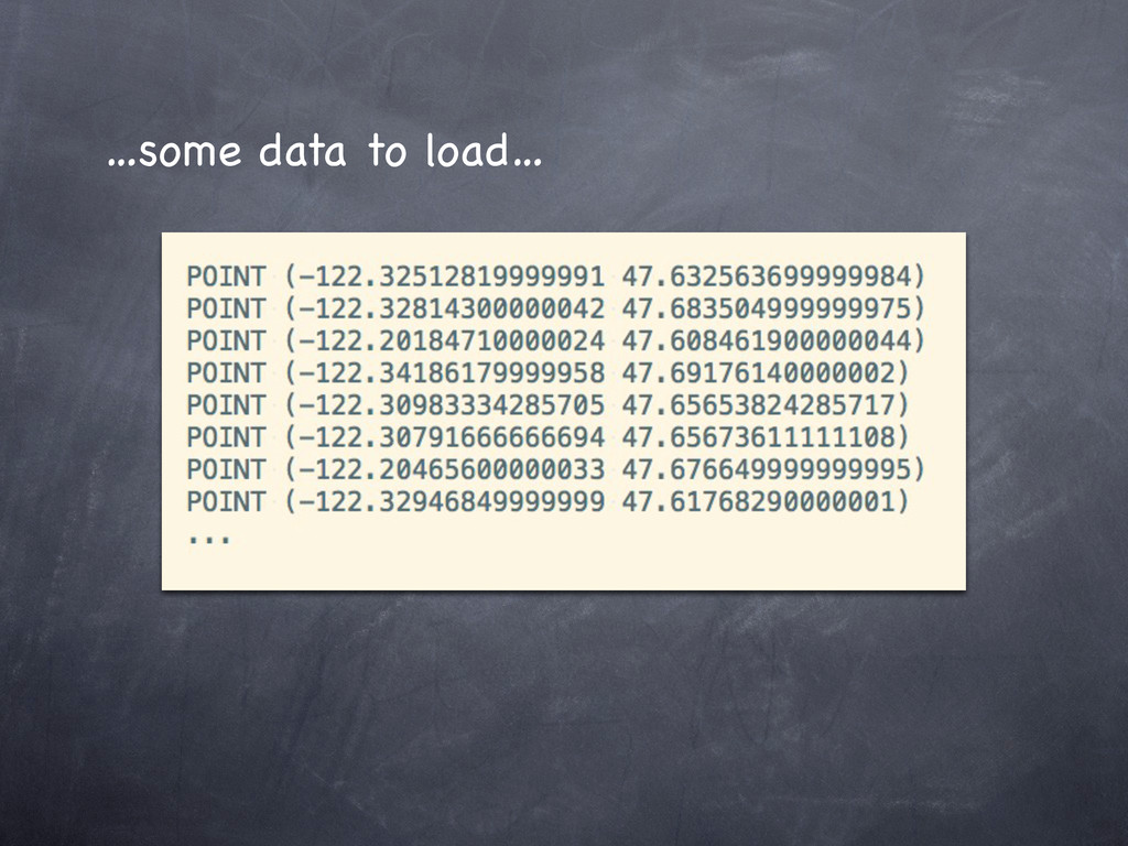 …some data to load…
