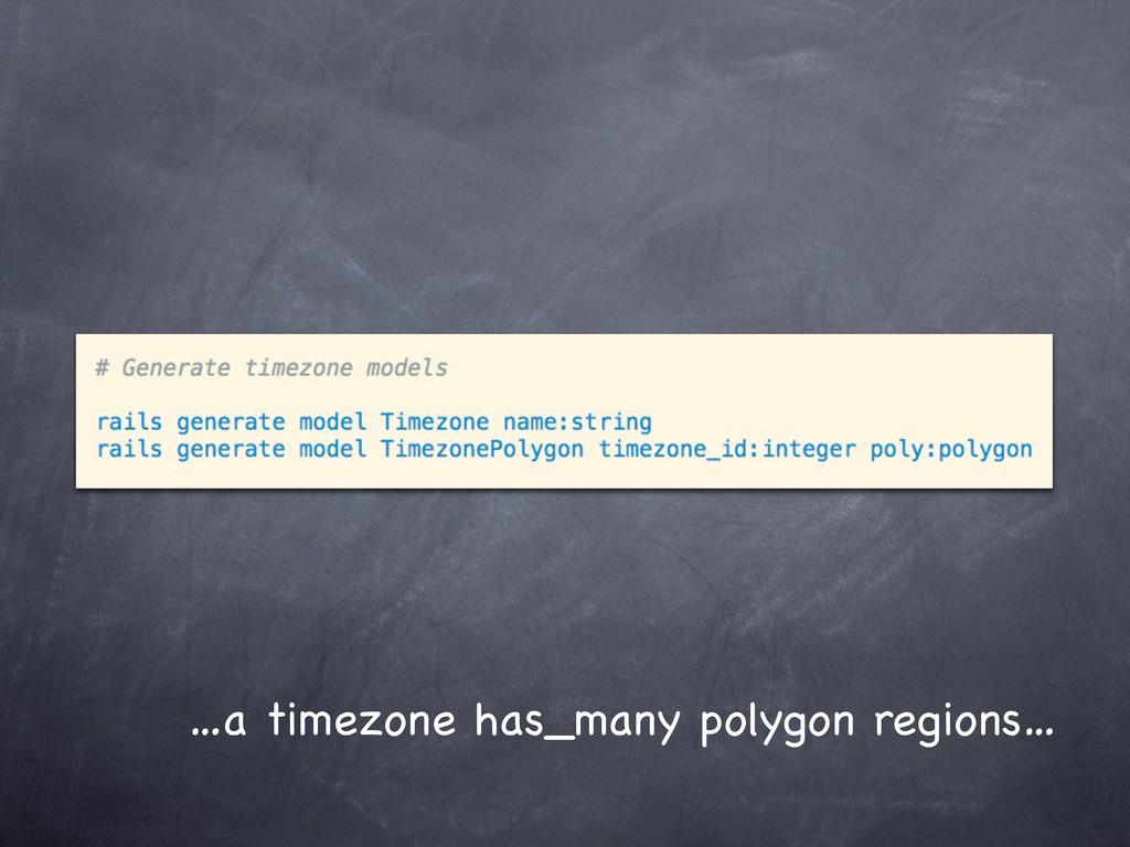 …a timezone has_many polygon regions…