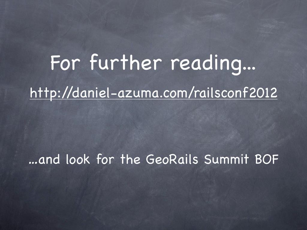 For further reading... http:/ /daniel-azuma.com...