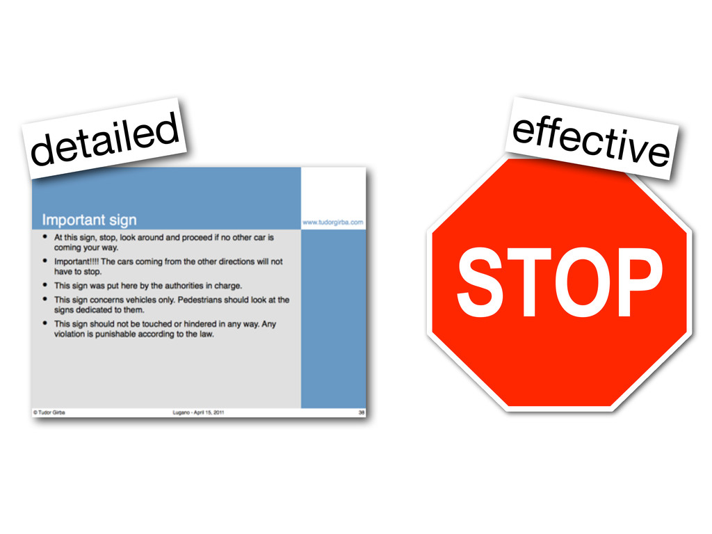 STOP detailed effective