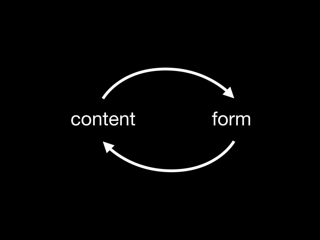 content form