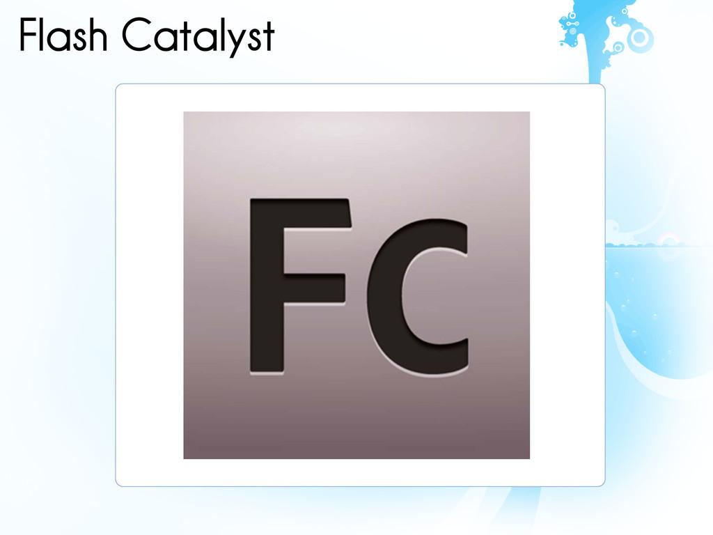 Flash Catalyst