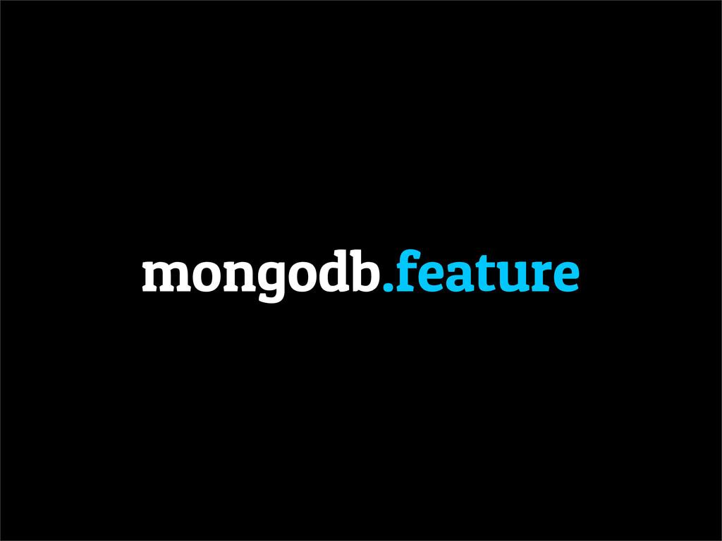 mongodb.feature