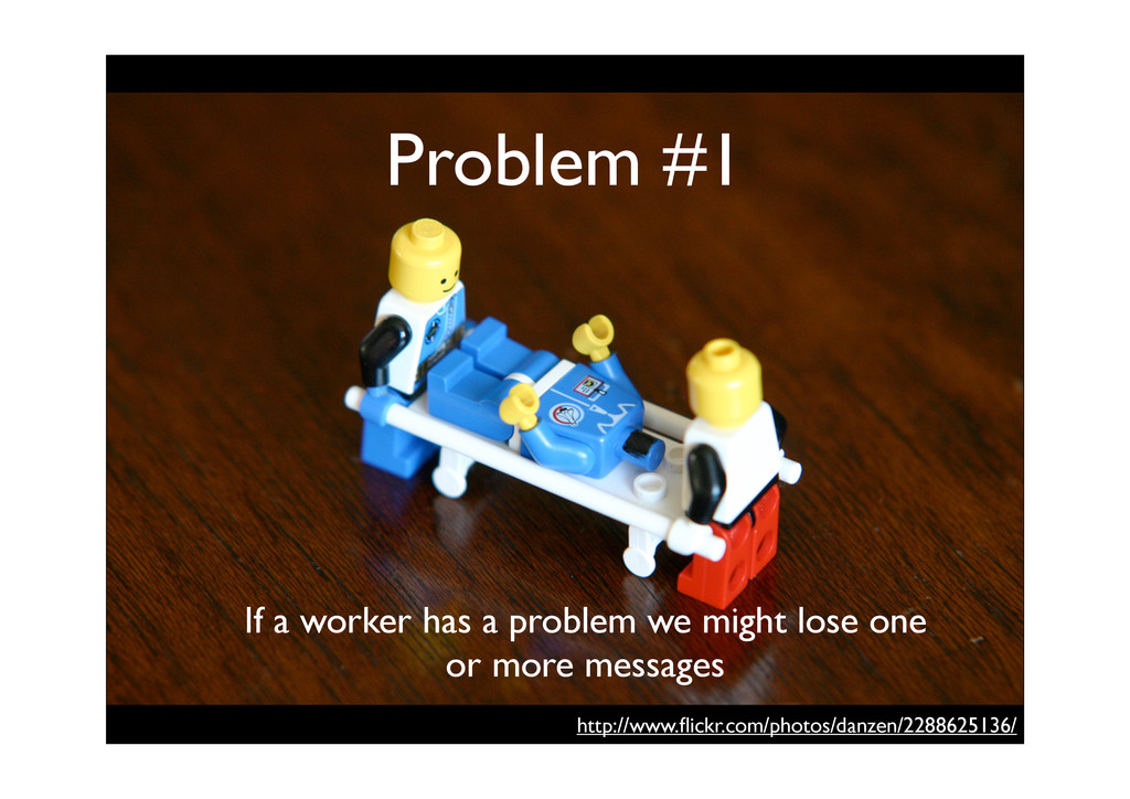 Problem #1 If a worker has a problem we might l...