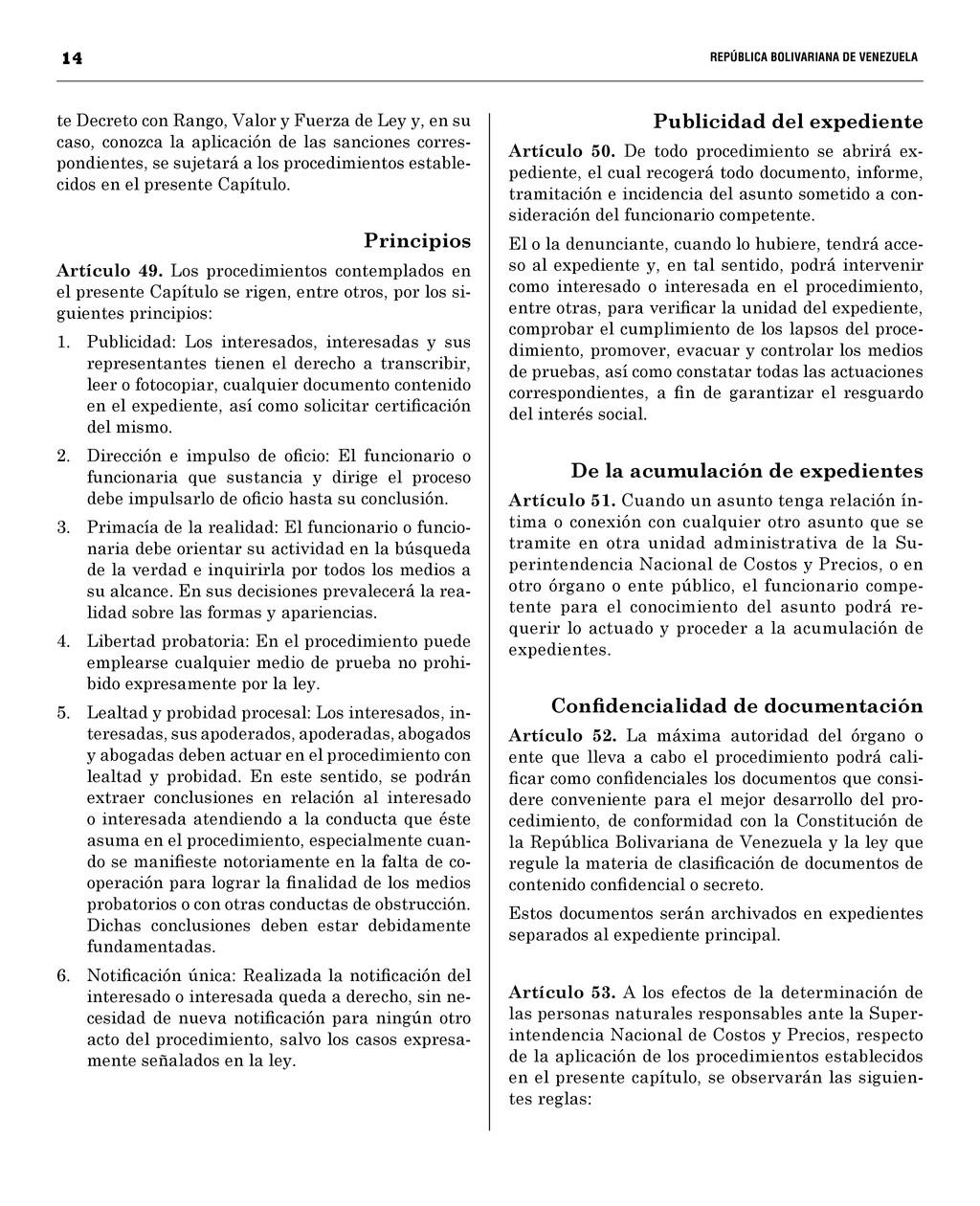 14  REPÚBLICA BOLIVARIANA DE VENEZUEL...