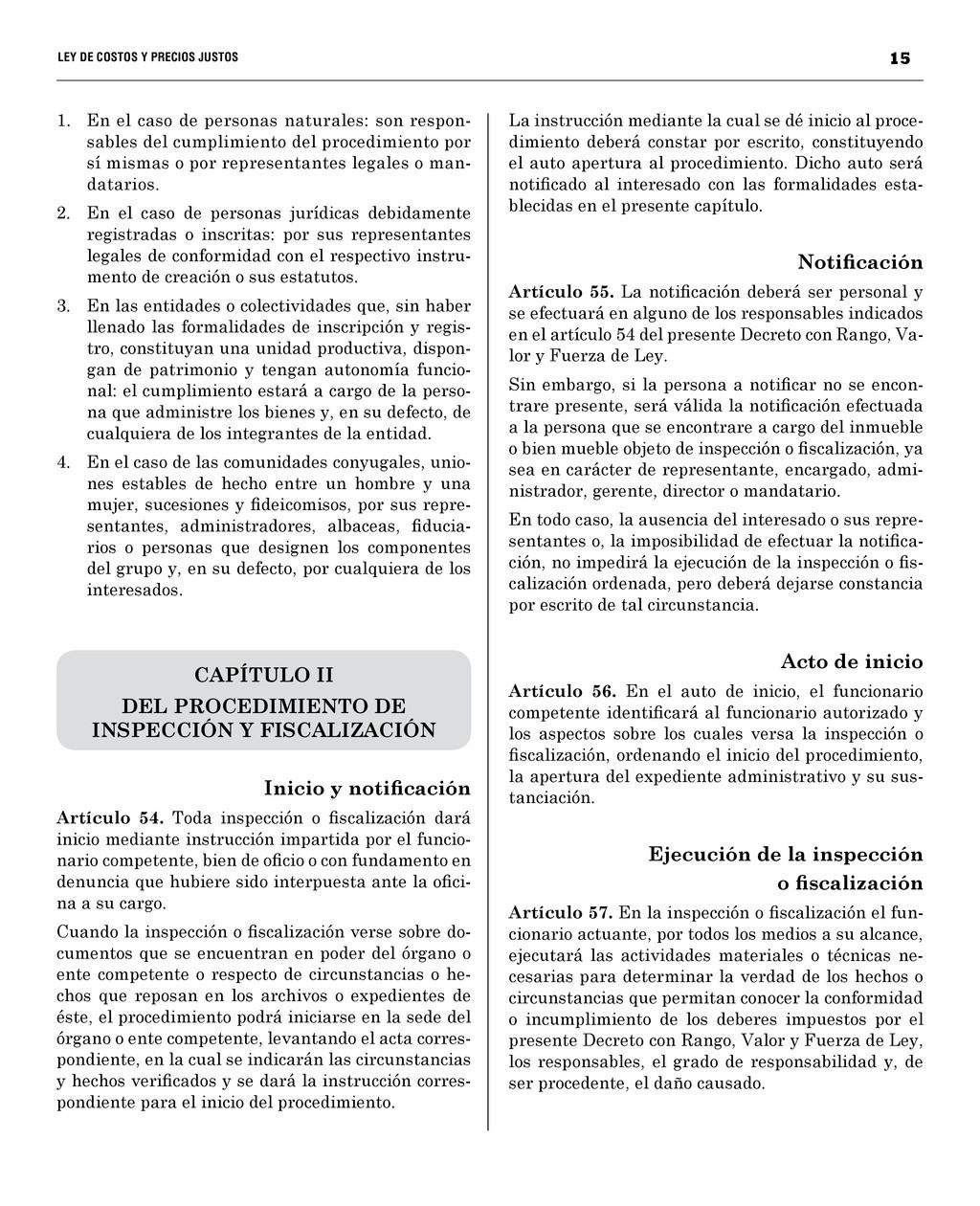 15 LEY DE COSTOS Y PRECIOS JUST...