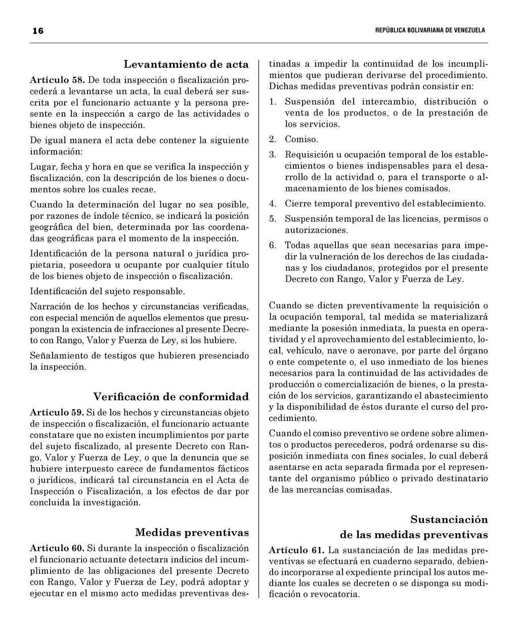 16  REPÚBLICA BOLIVARIANA DE VENEZUEL...