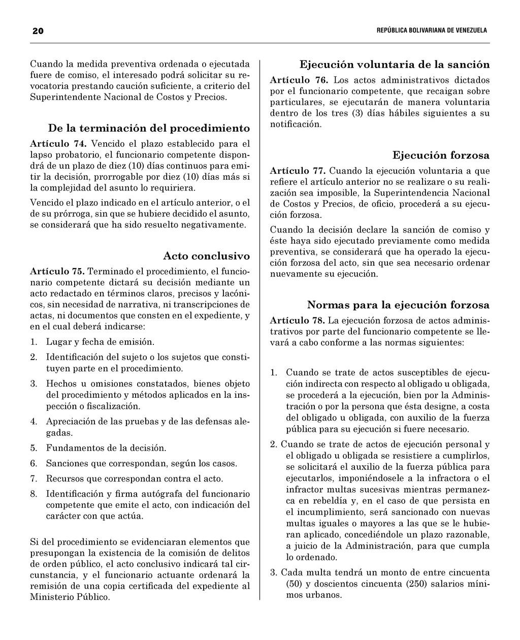 20  REPÚBLICA BOLIVARIANA DE VENEZUEL...