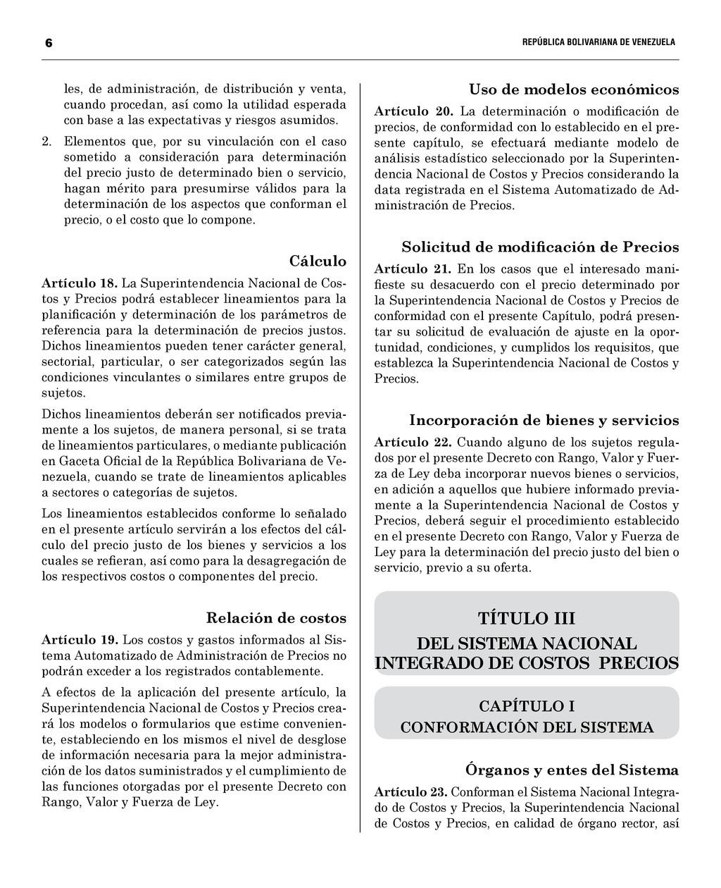 6  REPÚBLICA BOLIVARIANA DE VENEZUELA...