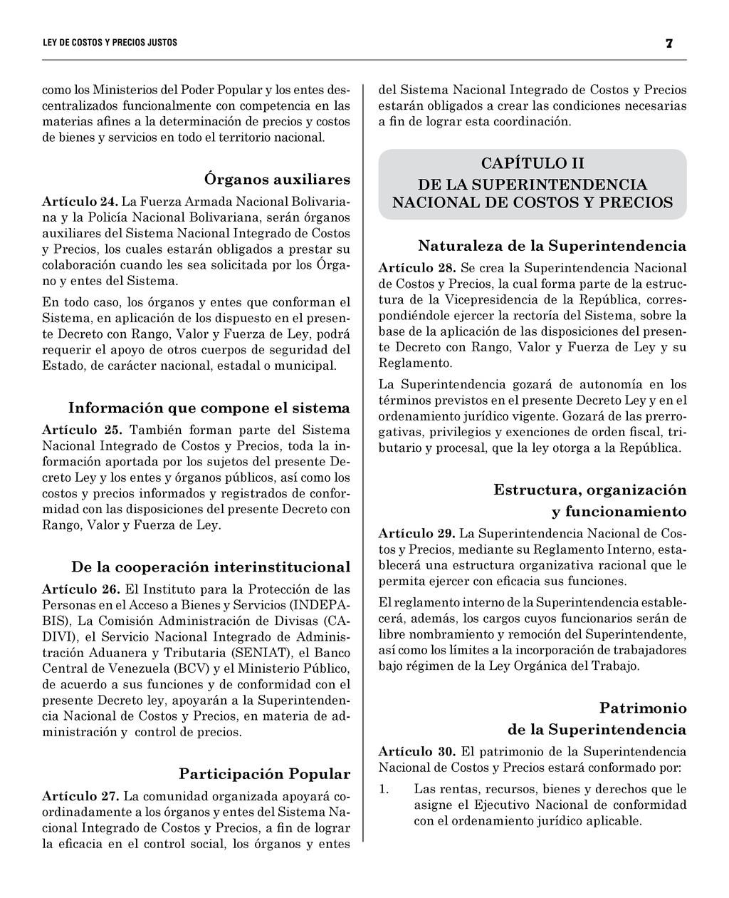 7 LEY DE COSTOS Y PRECIOS JUSTO...