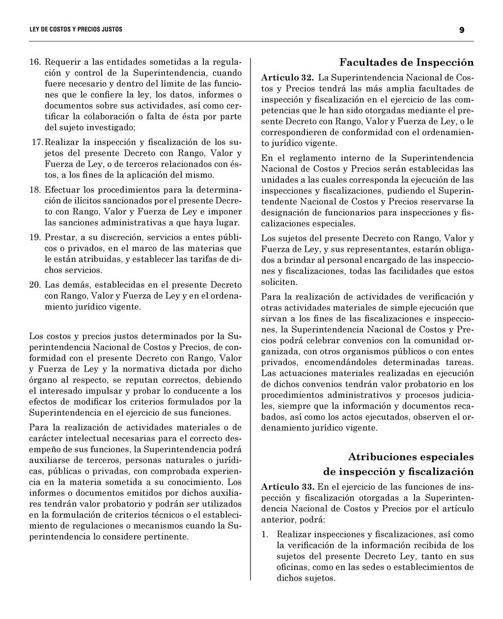 9 LEY DE COSTOS Y PRECIOS JUSTO...