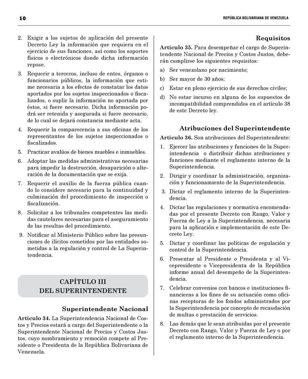 10  REPÚBLICA BOLIVARIANA DE VENEZUEL...