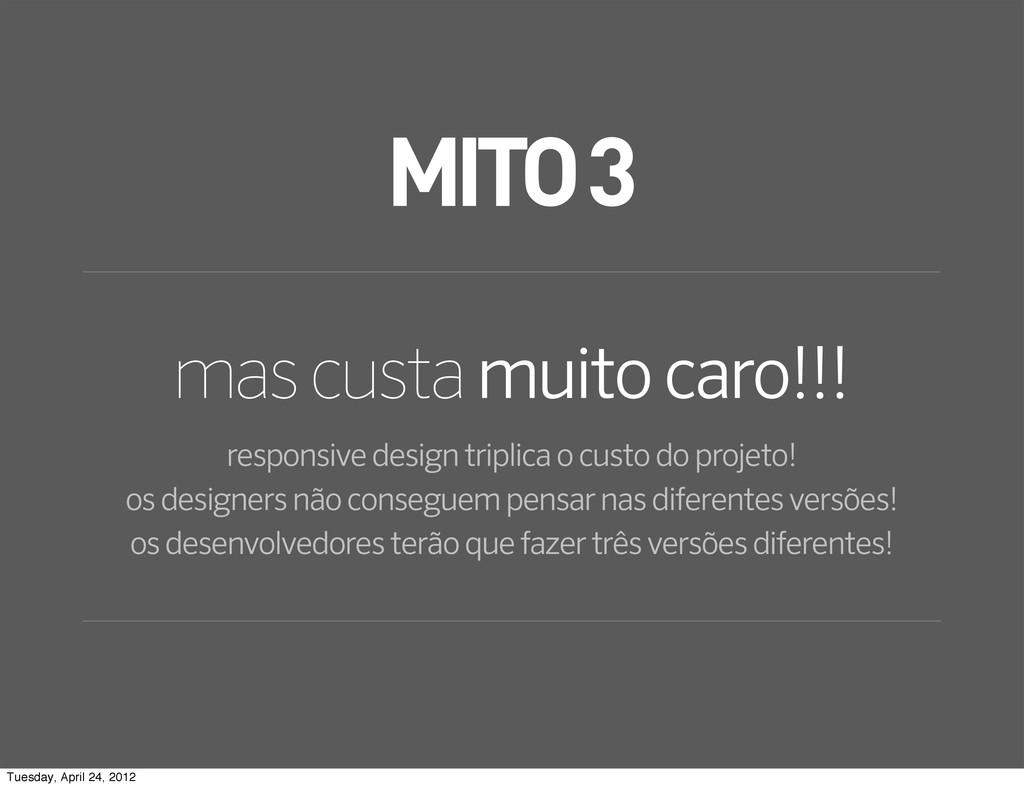 MITO 3 mas custa muito caro!!! responsive desig...