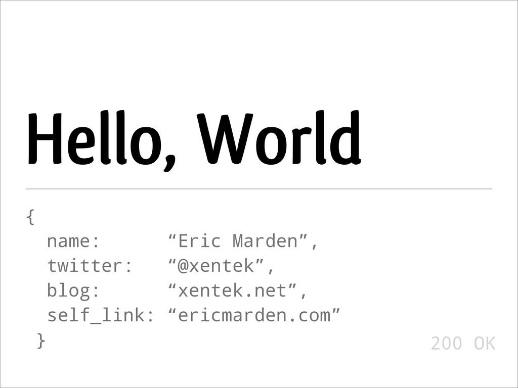 "Hello, World { name: ""Eric Marden"", twitter: ""@..."