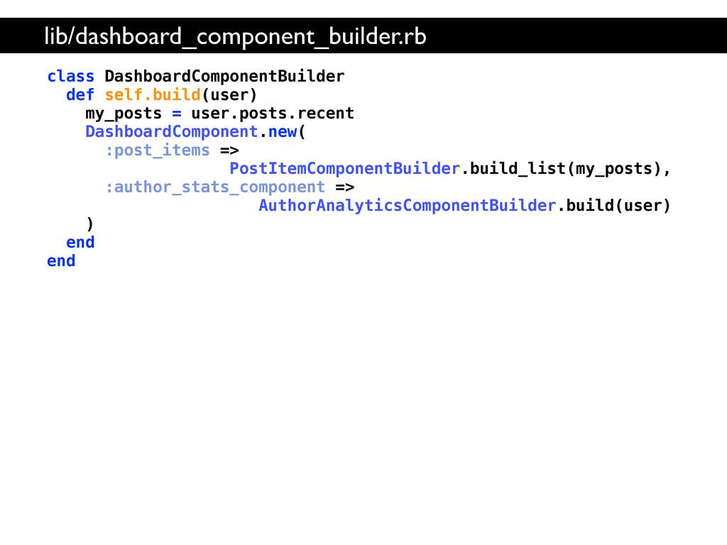 class DashboardComponentBuilder def self.build(...