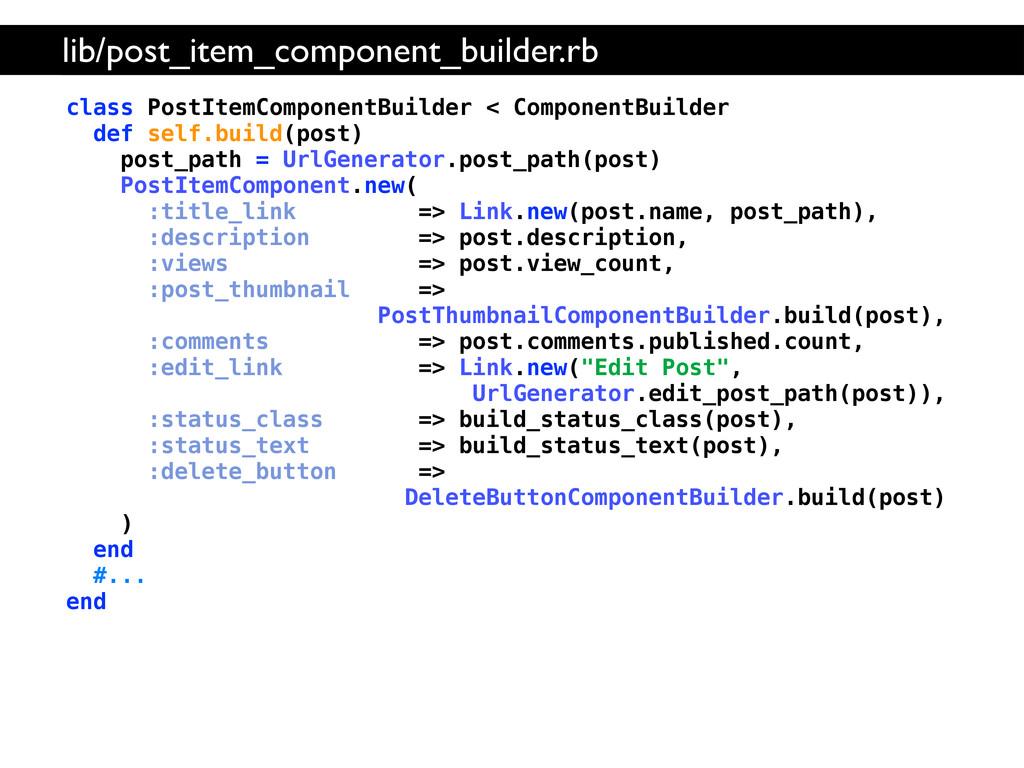 class PostItemComponentBuilder < ComponentBuild...