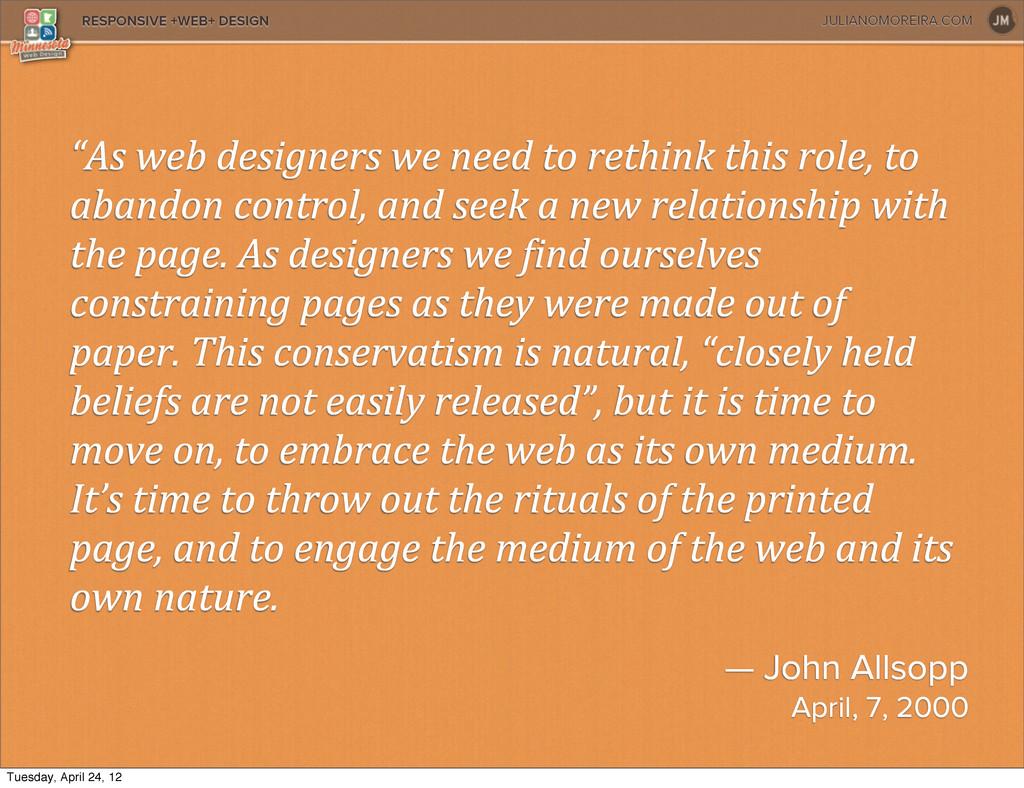 JULIANOMOREIRA.COM RESPONSIVE +WEB+ DESIGN — Jo...