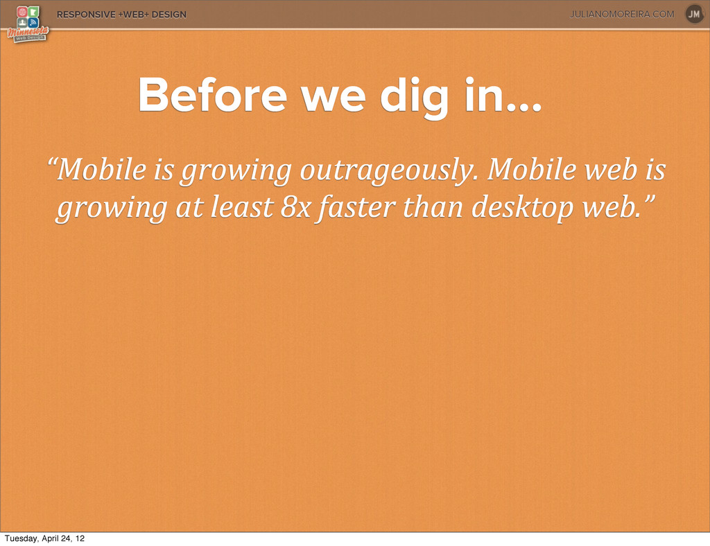"""JULIANOMOREIRA.COM RESPONSIVE +WEB+ DESIGN """"Mob..."""