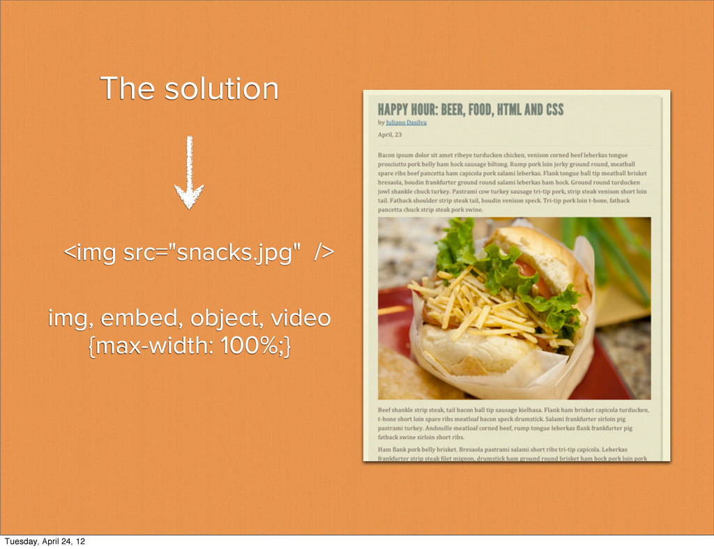 The solution img, embed, object, video {max-wid...