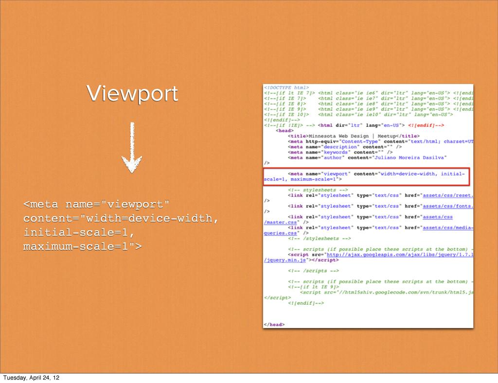 """Viewport <meta name=""""viewport"""" content=""""width=d..."""
