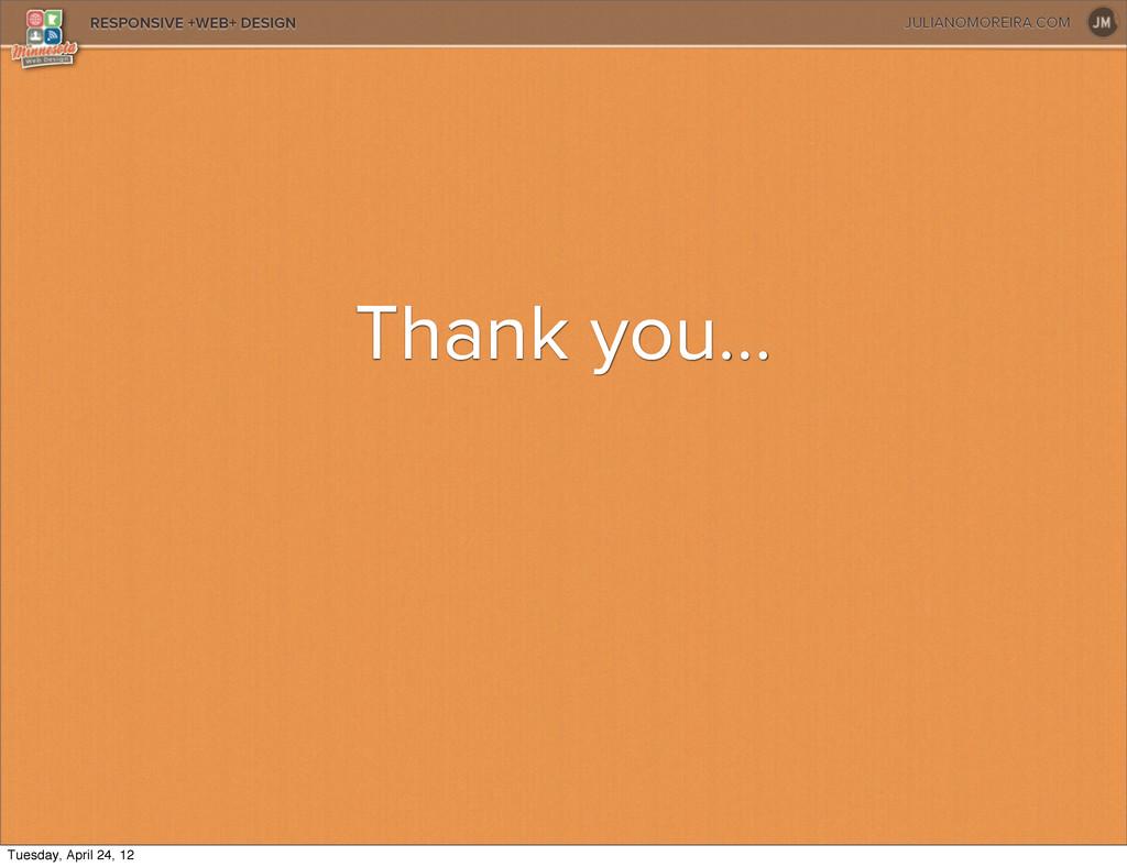 JULIANOMOREIRA.COM RESPONSIVE +WEB+ DESIGN Than...