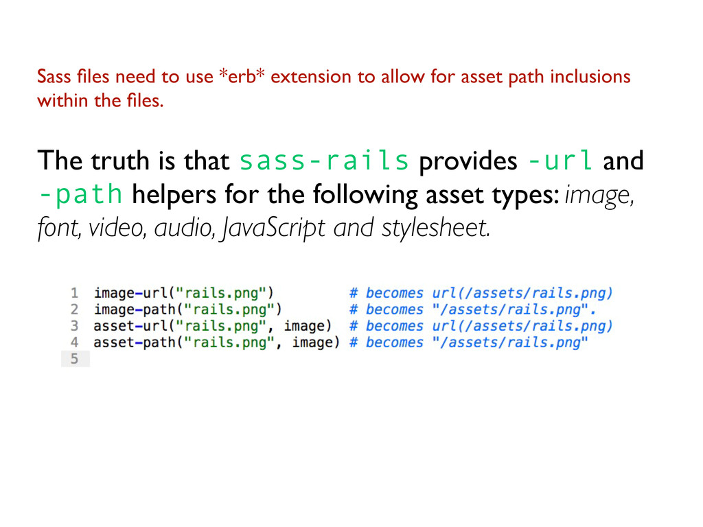 Sass files need to use *erb* extension to allow ...