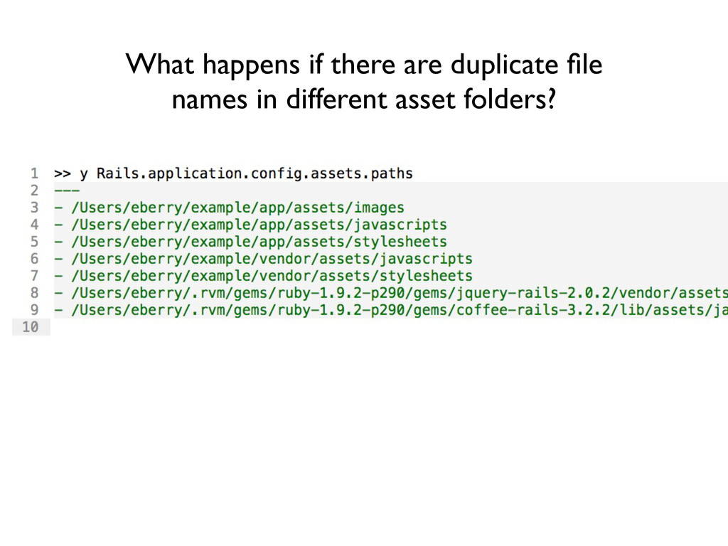 What happens if there are duplicate file names i...