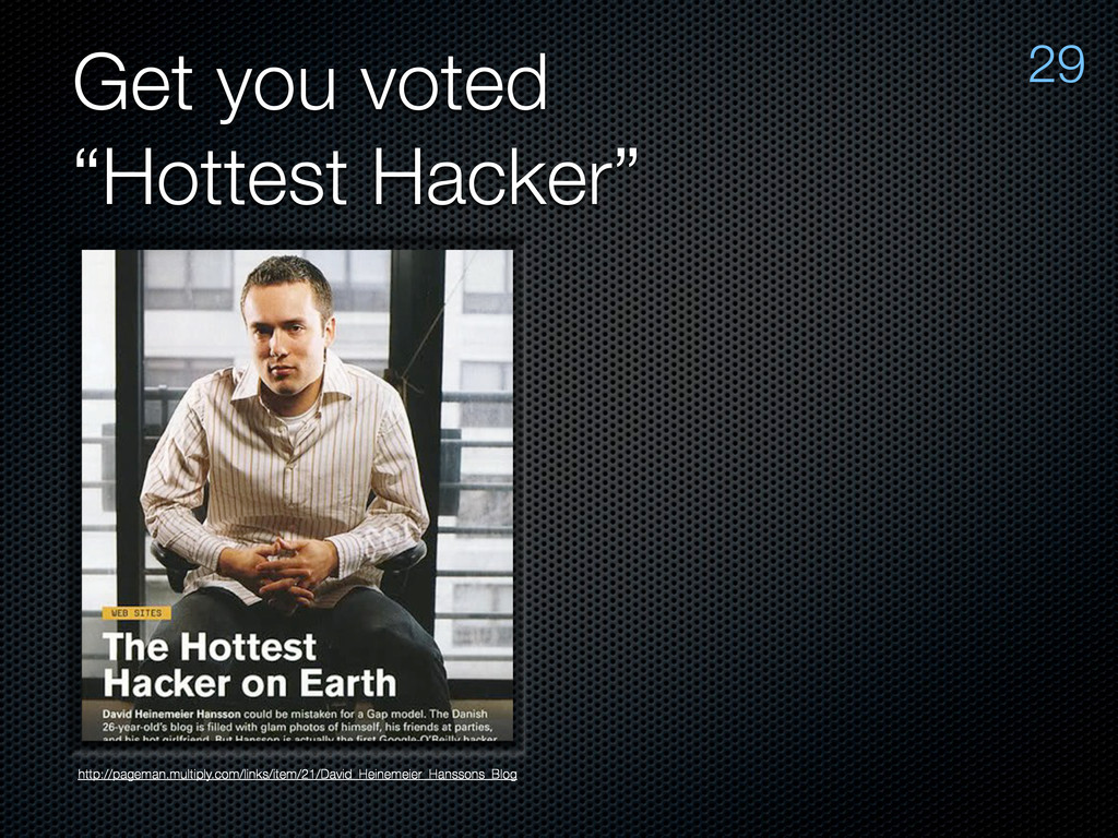 "Get you voted ""Hottest Hacker"" http://pageman.m..."