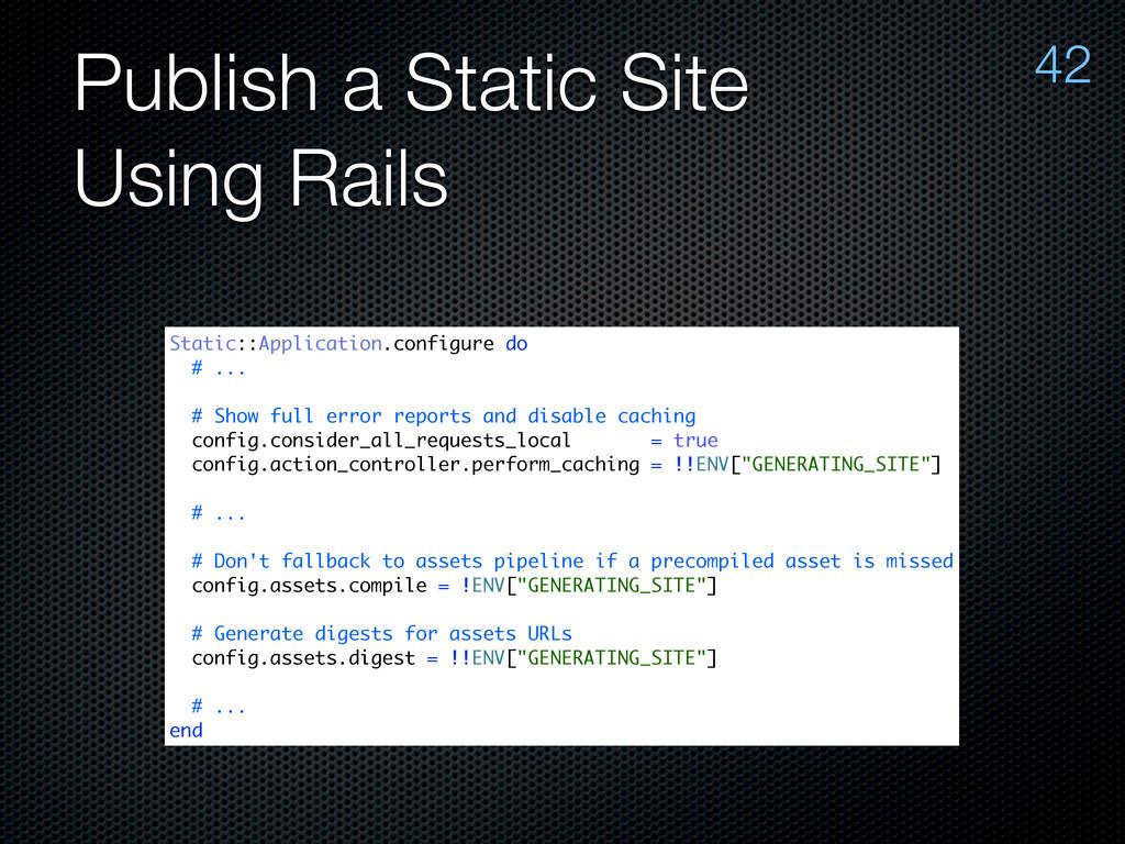 Publish a Static Site Using Rails 42 Static::Ap...