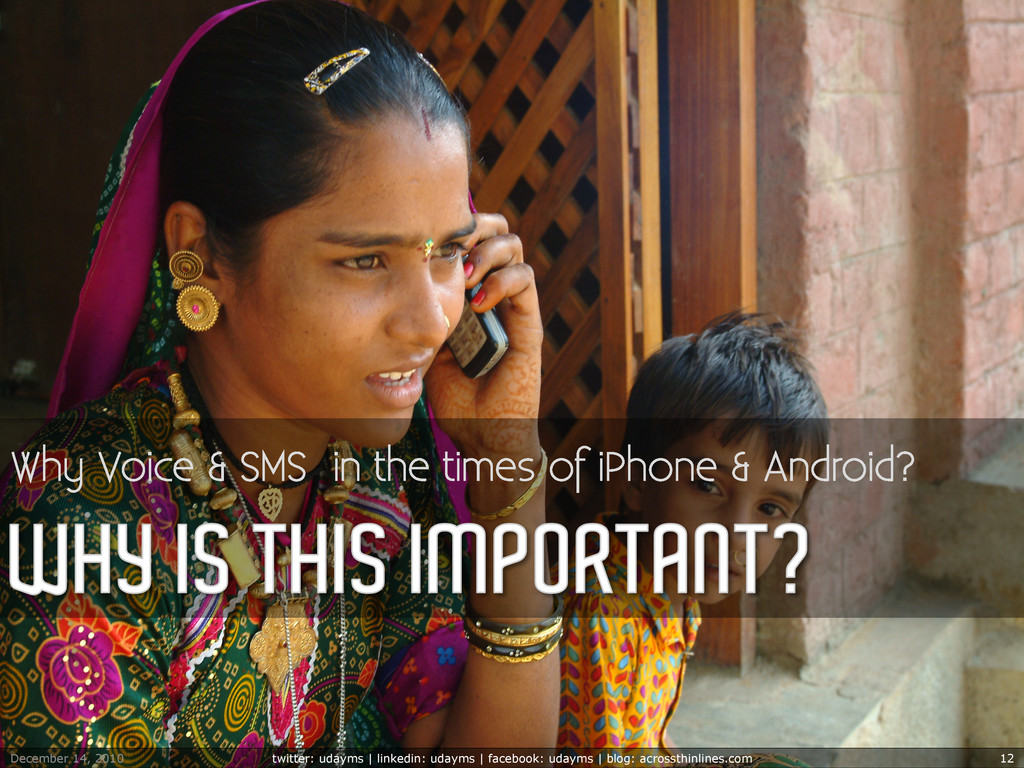 Why Voice & SMS in the times of iPhone & Androi...