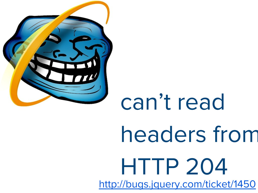 can't read headers from HTTP 204 http://bugs.jq...