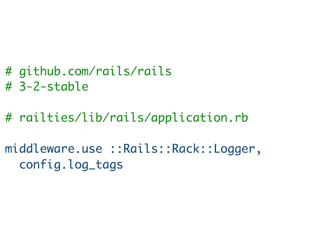 # github.com/rails/rails # 3-2-stable # railtie...