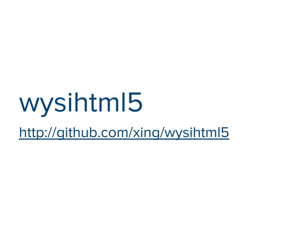wysihtml5 http://github.com/xing/wysihtml5