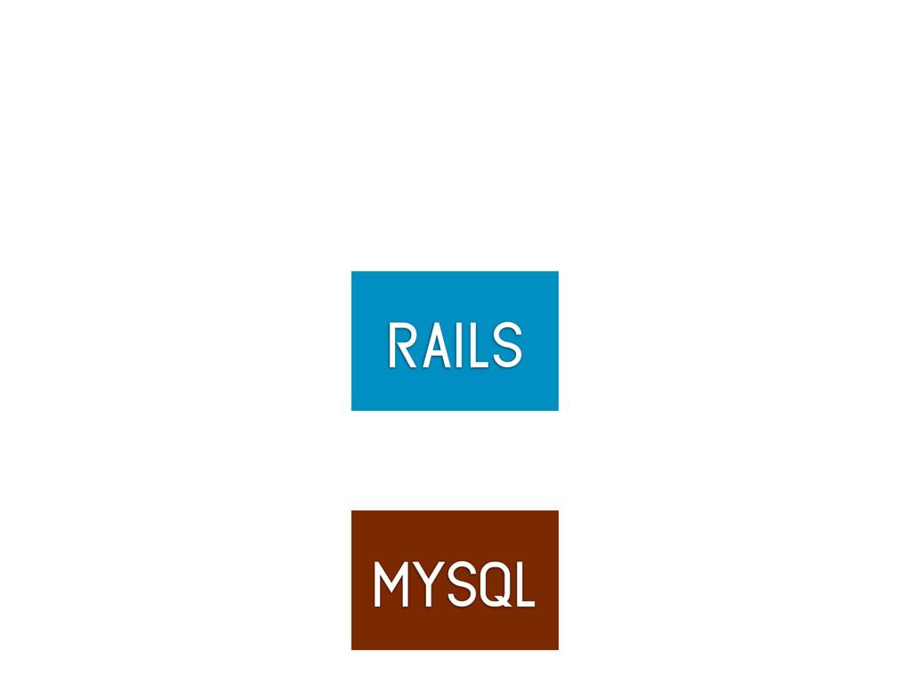 rails mysql