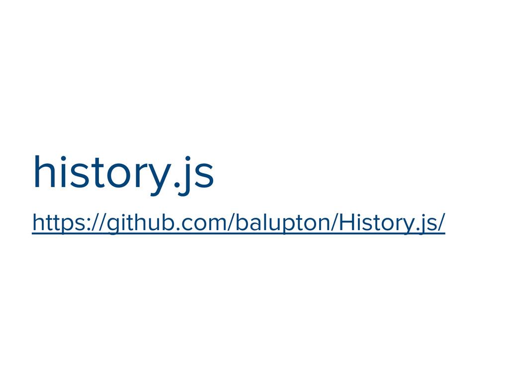 history.js https://github.com/balupton/History....
