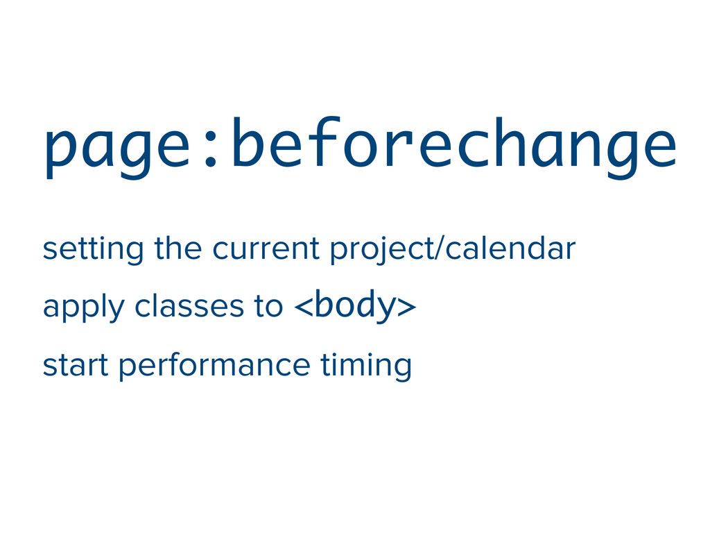 page:beforechange setting the current project/c...
