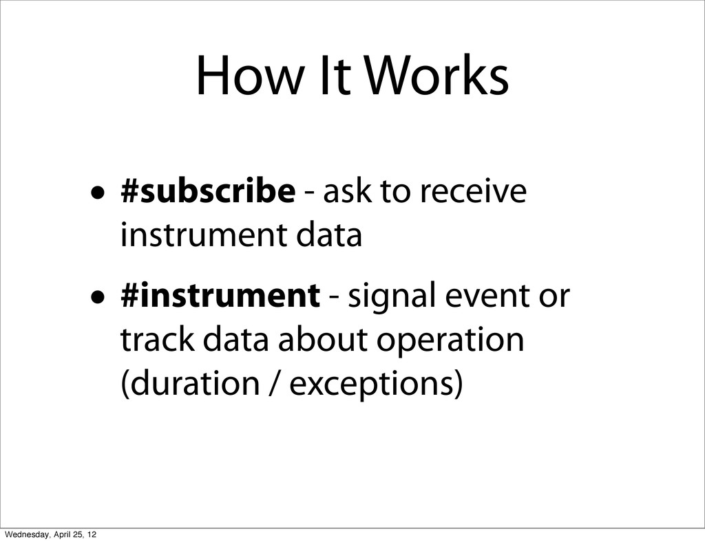 How It Works • #subscribe - ask to receive inst...