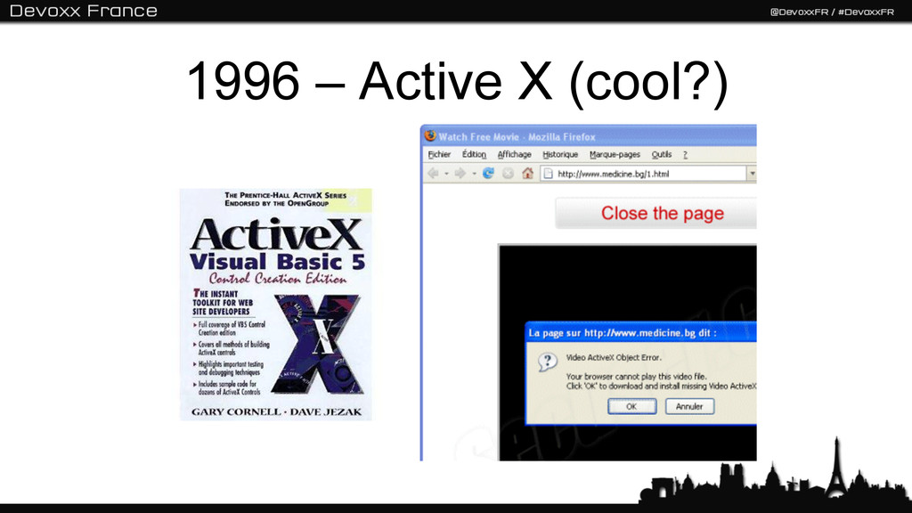 1996 – Active X (cool?)