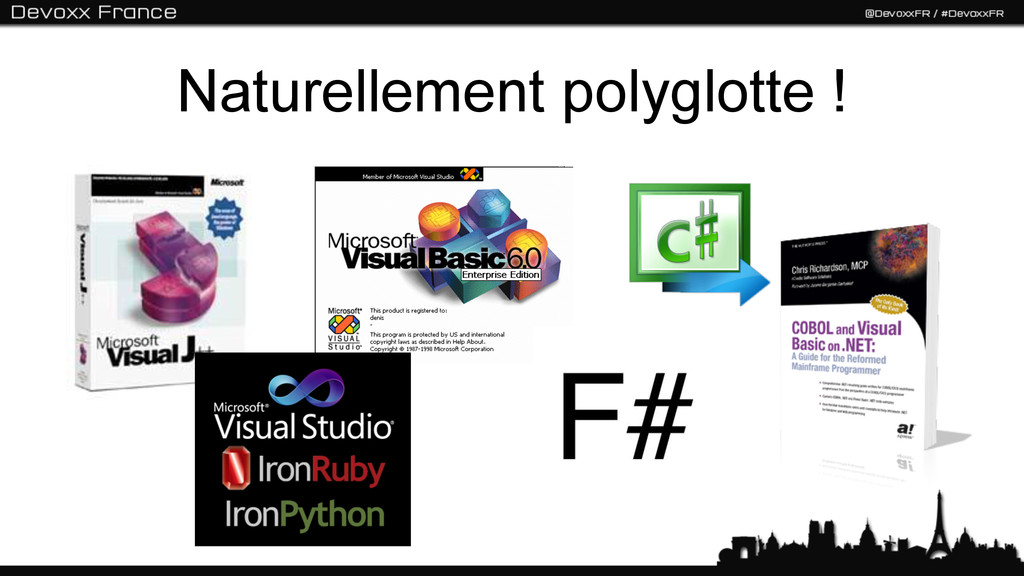 Naturellement polyglotte !