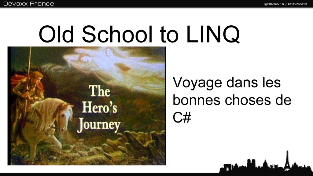 Voyage dans les bonnes choses de C# Old School ...