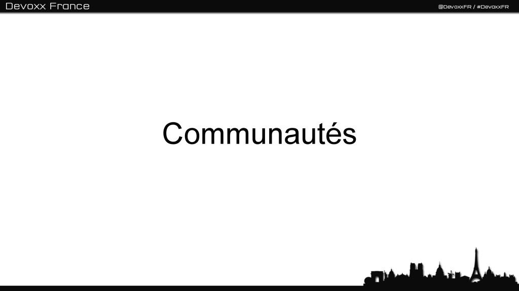 Communautés