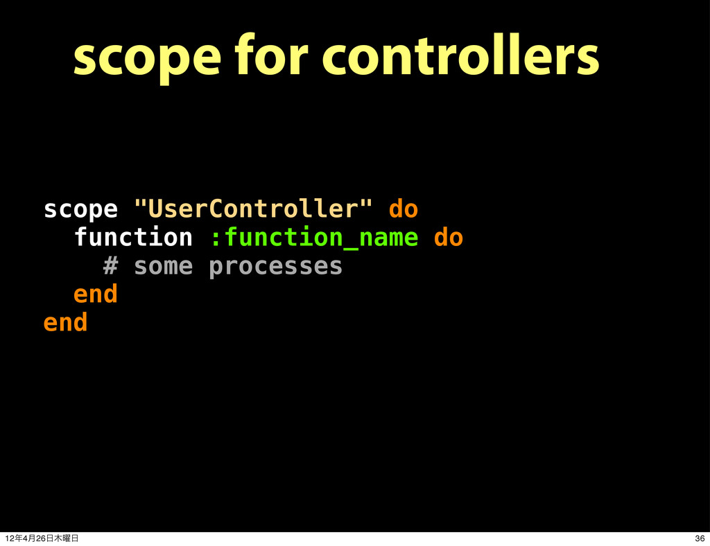"scope for controllers scope ""UserController"" do..."
