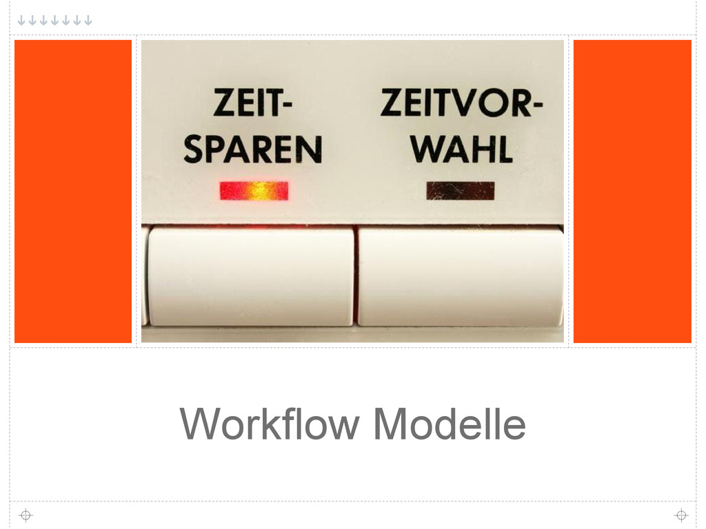 Workflow Modelle