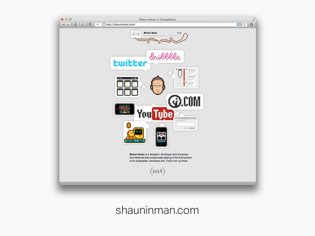 shauninman.com