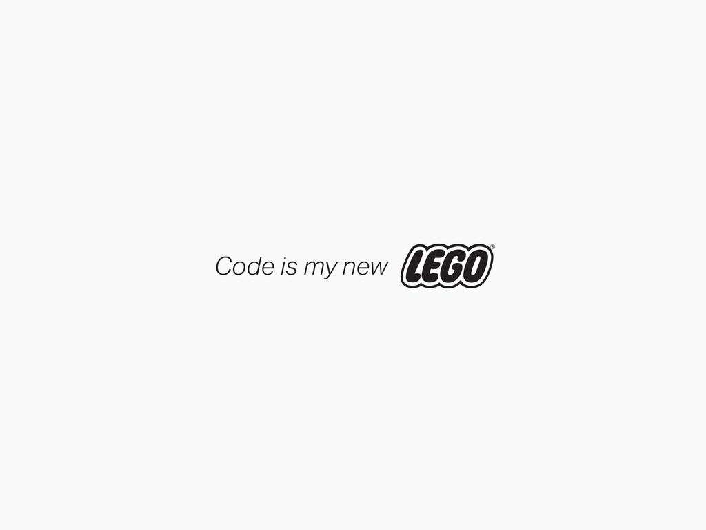 Code is my new