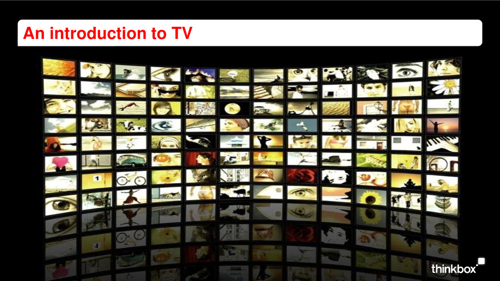 An introduction to TV