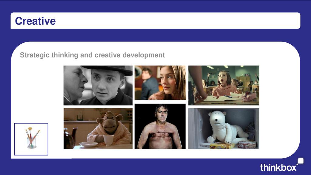 Creative Strategic thinking and creative develo...