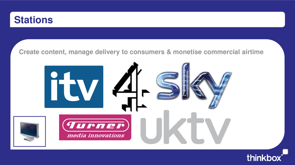 Stations Create content, manage delivery to con...
